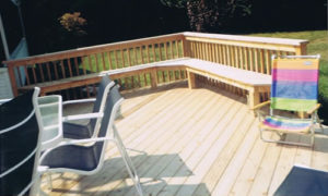 House decks in Chester County