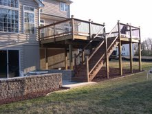 Custom deck builder in Chester County